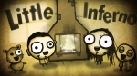Little Inferno, video game, advert, fireplace, boy, girl