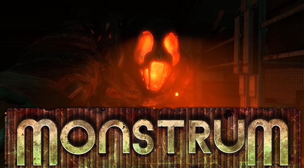 Monstrum, video game, box art, title, monster