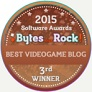 Bytes that Rock! award, bronze, third place, 2015