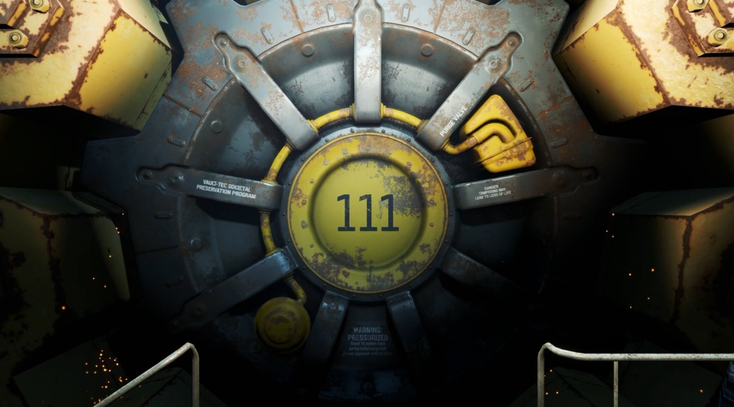 Fallout 4, video game, vault, 111