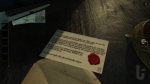 The Room, video game, letter, note, wax seal, envelope