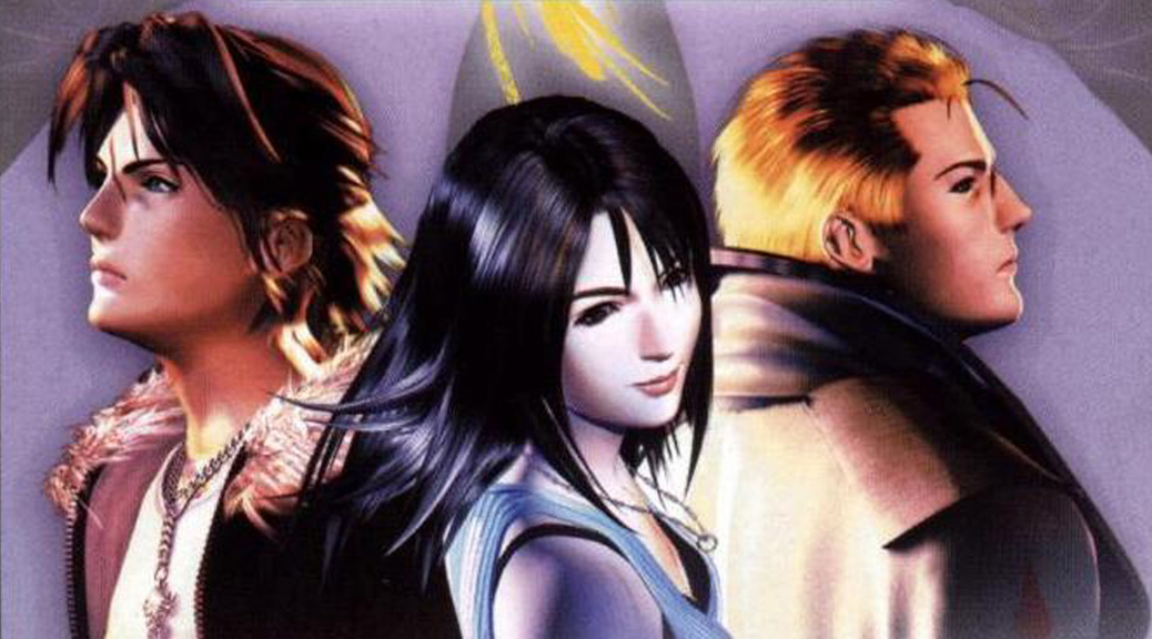 Final Fantasy, Final Fantasy VIII, video game, box art, faces
