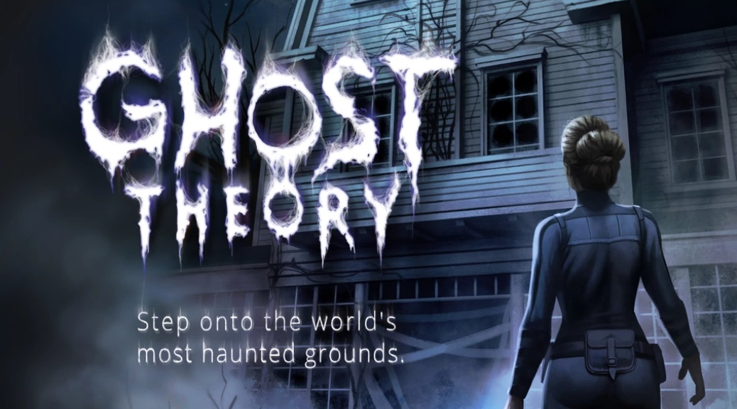Ghost Theory, video game, title, Barbara, woman, dark, shadows, haunted house, cobwebs, night