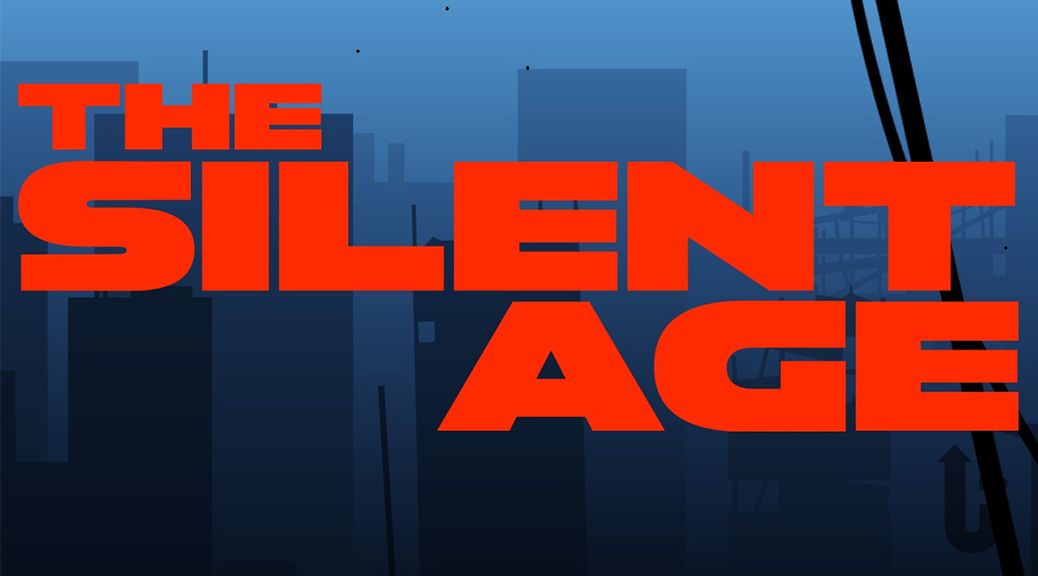 The Silent Age, video game, box art, title, skyline