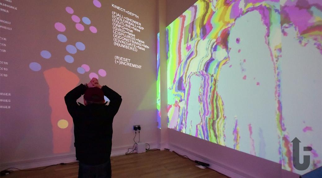 Bits & Bytes, event, Dreamland, Margate, Ethan, digital art, interactive art
