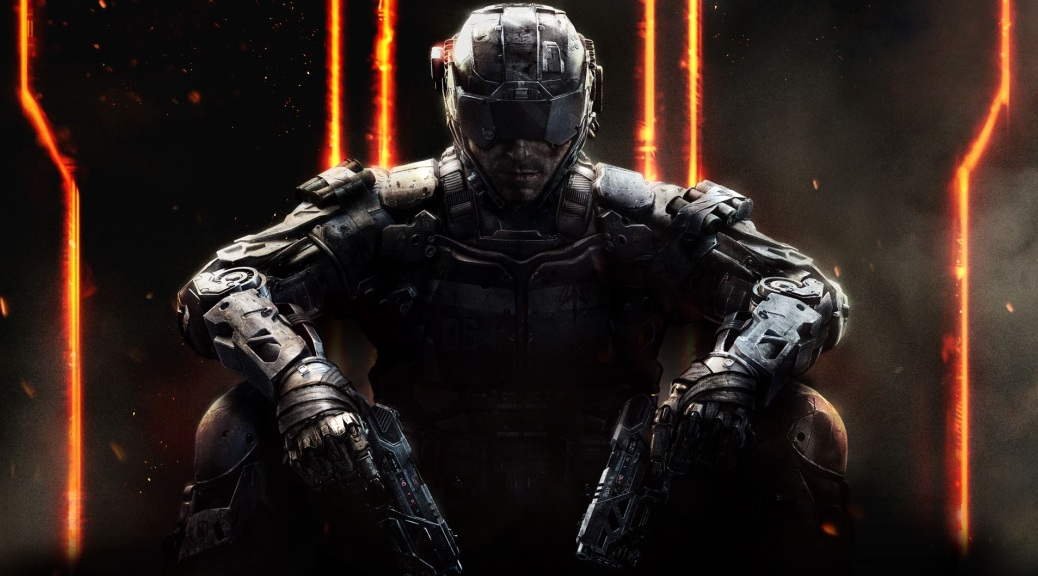 Call of Duty, Call of Duty: Black Ops III, box art, video game, dark, shadow, soldier