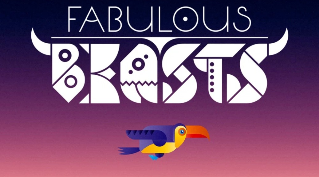 Fabulous Beasts, video game, box art, title, toucan, bird
