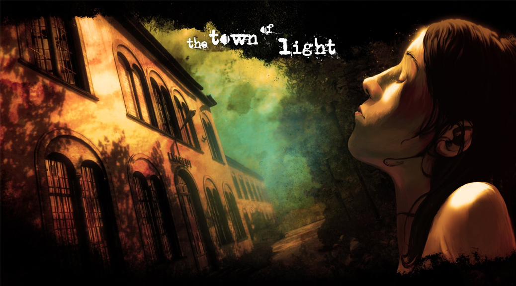 The Town of Light, video game, box art, title, girl, face, Renee, Volterra, building, hospital, asylum